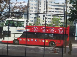 Found the double-decker bus city tour. Found all the places that we will go see in detail tomorrow quickly.