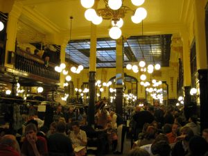 Dinner at Chartier, a recommendation of the Lonely Planet and the best place we have eaten so far